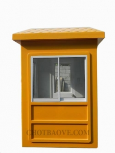 Bốt gác bảo vệ 1,5m màu vàng