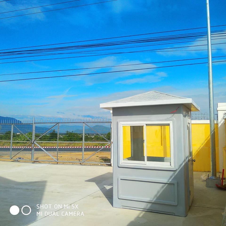 Cung cấp cabin chốt gác sân bay Cam Ranh