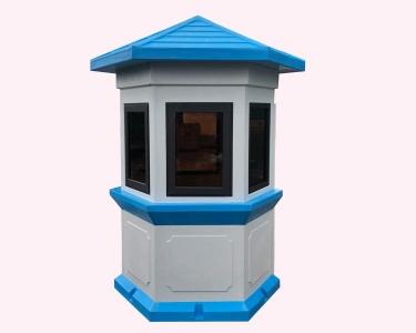 Nhà chòi lục giác bằng composite