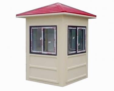 Nhà bảo vệ màu kem mái đỏ Vinacabin