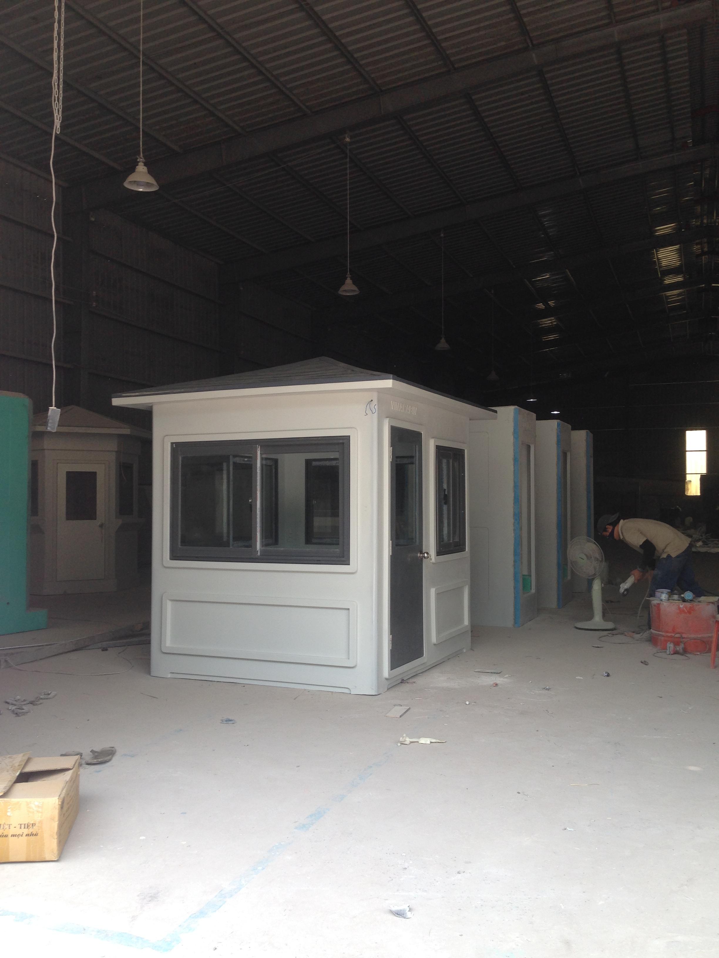 Nhà bảo vệ chất lượng cao chế tạo hàng loạt phù hợp với hầu hết các công trình ở Việt Nam