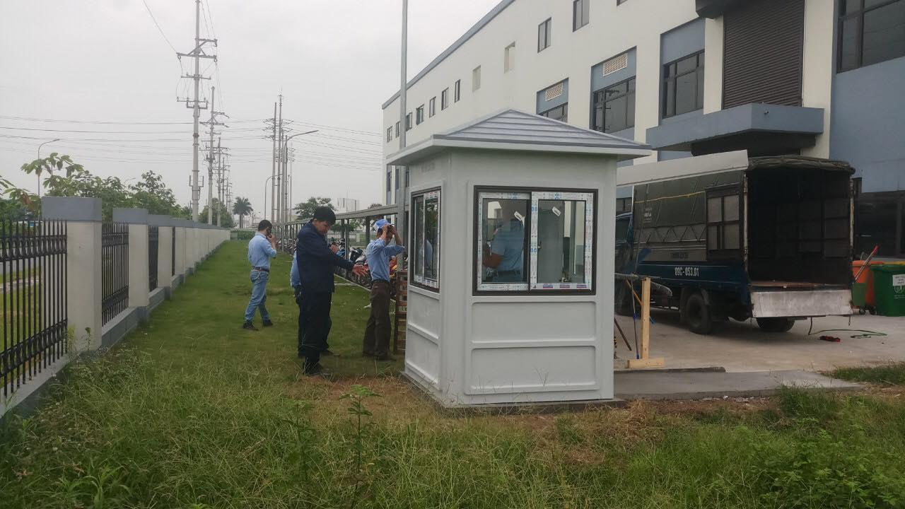 Cung cấp cabin chốt gác bảo vệ trong khuôn viên nhà máy