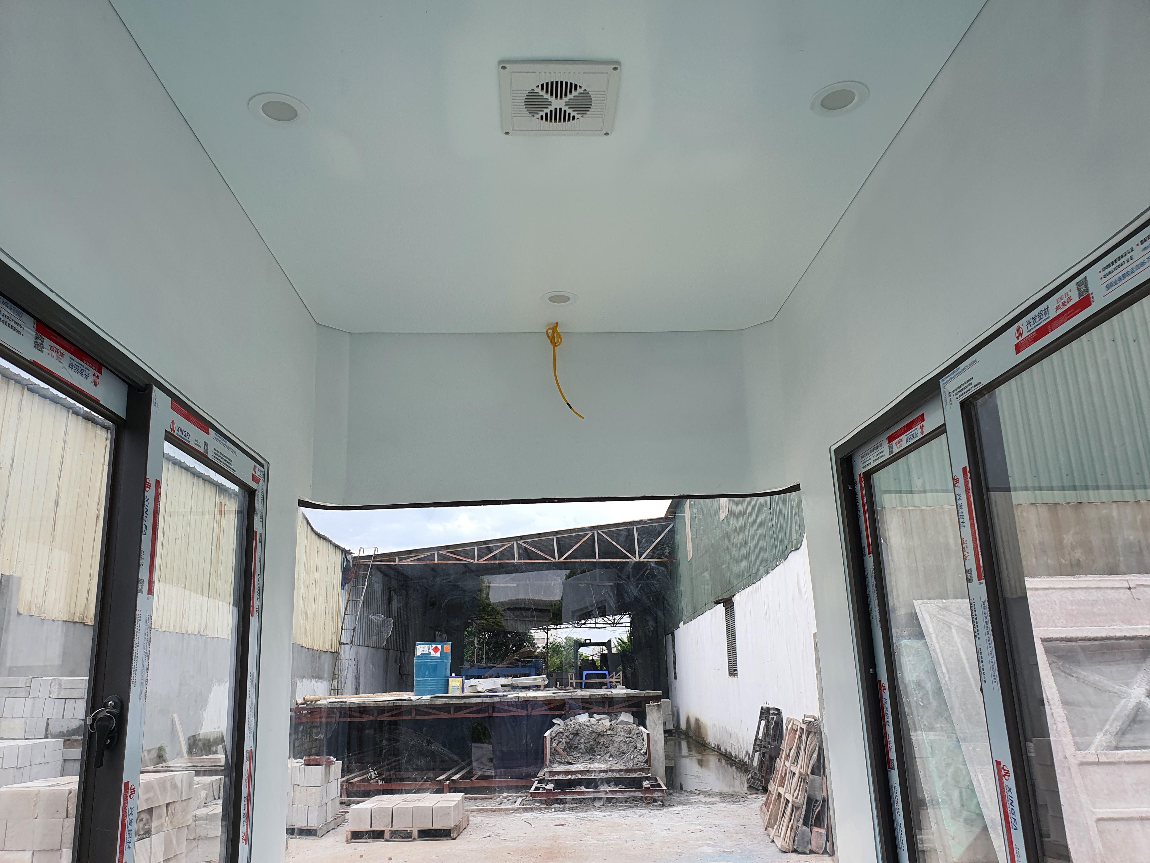 Trần cabin thu phí VC1H1400
