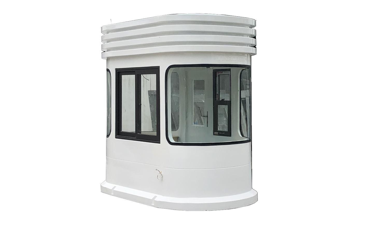 Cabin thu phí kính cong VR2H1300