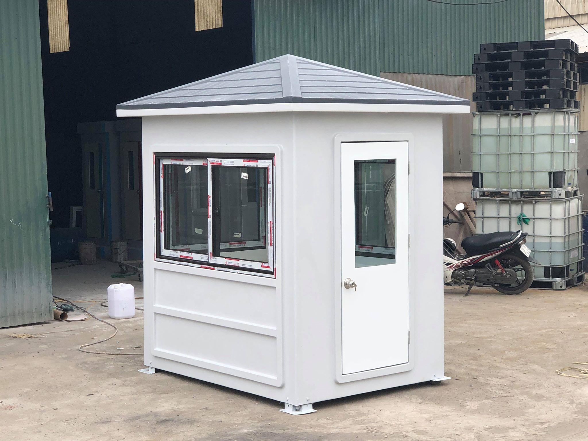 Nhà bảo vệ Handy Booths mái nhọn