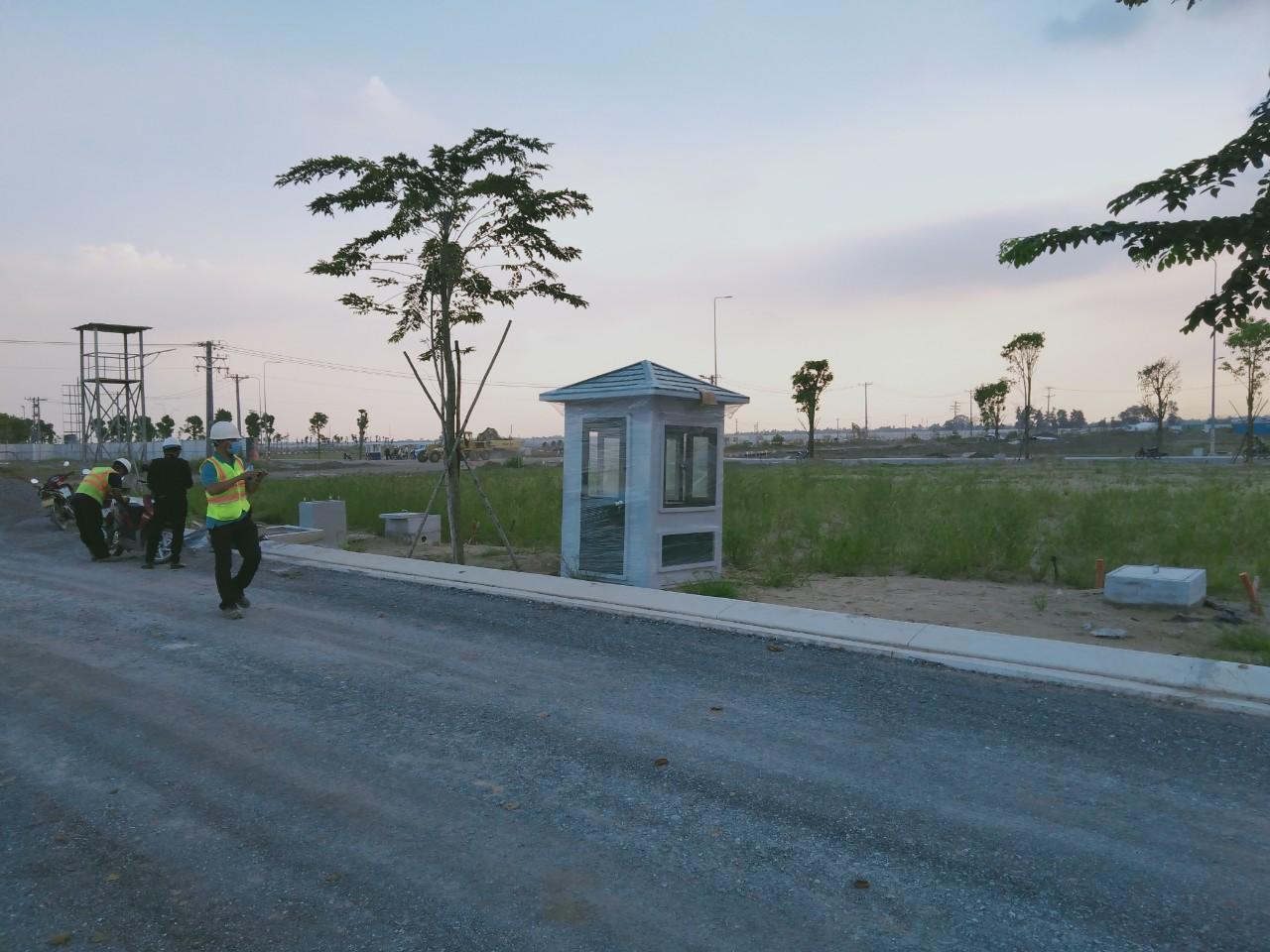 Bốt bảo vệ Vinacabin tại khu đô thị mới