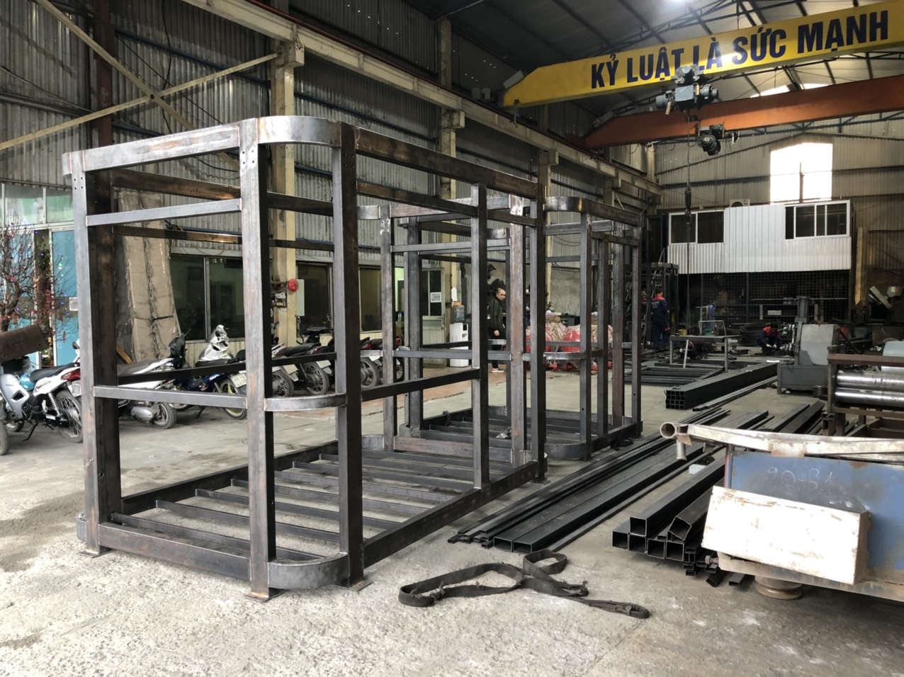 Vinacabin đầu tư xưởng chế tạo chuyên nghiệp để sản xuất hàng loạt